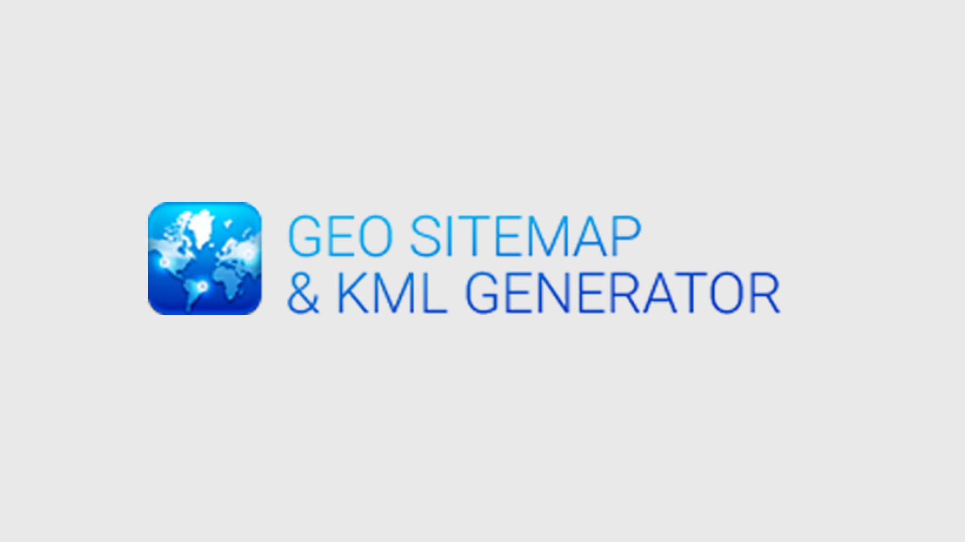 geo sitemap and kml file optimizations