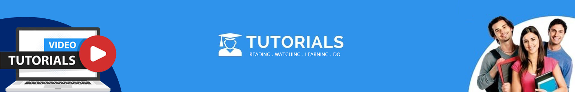 Banner for Tutorials